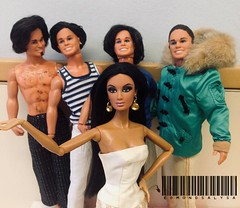 The Sport & Shave Ken Crew & Me ❤️ (EdmondLovesAlysa) Tags: alysa alysaoflosangeles ken sport shave 1980 mattel integrity integritytoys repaint reroot puertorican playline photography dolls doll dollphotography dollsofcolor edmondlovesalysa