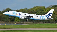 G-FBJD (AnDyMHoLdEn) Tags: flybe embraer egcc airport manchester manchesterairport 23r