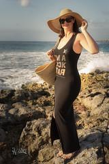 2019 Mila Mexico 1 Hat (jeho75) Tags: sony ilce 7m2 zeiss mexico akumal portrait mila caribbean woman