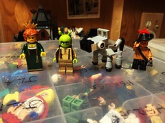 some (Lord Allo) Tags: lego shrek donkey fiona puss in boots