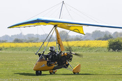 G-MROC - 1999 build Cyclone Airsports Pegasus Quantum, arriving at Fenland during the 2018 Bank holiday Monday Fly-in (egcc) Tags: 2018bankholidaymondayflyin 7498 bankholidaymondayflyin cycloneairsports egcl fenland flexwing gmroc hill holbeachstjohns lightroom microlight pegasus quantum weightshift