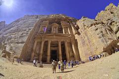 A mystery Treasury (T Ξ Ξ J Ξ) Tags: jordan petra fujifilm xt20 teeje samyang8mmf28 siq canyon unique sandstone tsamud