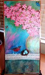 Lavender Lake Student Painting