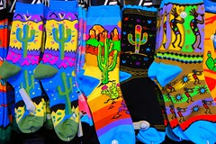 Arizona Socks (5of7) Tags: sock socks cactus arizona many color colour colourful colorful clothes textile hanging new cameron cameronarizona bright fav challengeclubwinner challengewinner 4fav pregamewinner 2wins