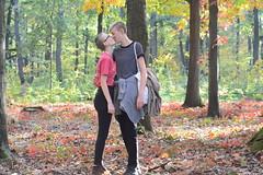 Rachel 4 (katarinakadijevic) Tags: queer lgbtq autumn couple woman women love passion lesbian forest woods nature god spiritual sun plants humans portrait feminism feminist