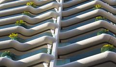 Fuori di balcone (Fil.ippo) Tags: balcone balcony monaco montecarlo abstract geometry lines curve filippo filippobianchi d610 architecture architettura building house casa