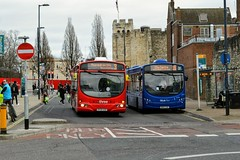 Southampton (PD3.) Tags: bus buses psv pcv southampton hampshire hants england uk wilts dorset bluestar go ahead goahead group first 69396 hy09azo hy09 azo volvo wright 2291 bn64 cnv bn64cnv