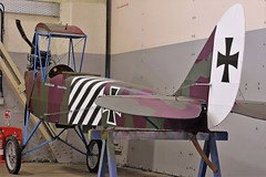 RUMPLER CVII REPLICA (toowoomba surfer) Tags: biplane aviation aircraft aeroplane museum airmuseum aviationmuseum