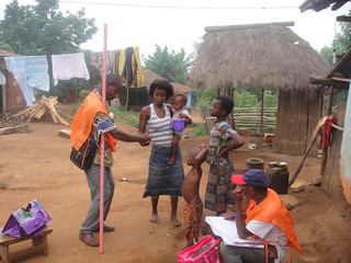 Community MDA in Togo by