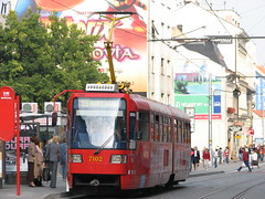 IMG_4165 (-A l e x-) Tags: bratislava slovakei tram strassenbahn tramway slovakia 2006 öpnv reise verkehr öffis