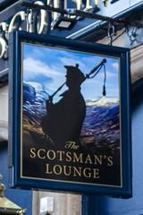 "The Scotsman's Lounge. Edinburgh (newpeter) Tags: edinburgh scotland castle canon tartan pipers piper scottmonument princesgardens carltonhill usherhall ""dean village"" ""scottish gallery modern art"" omni centre grassmarket grayfriars bobby pub publichouses inns beer ale signs realale badges pubsigns"
