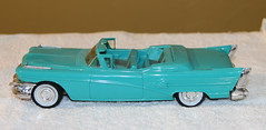 """1958 Buick Roadmaster Convertible Promo Model Car - """"Light Turquoise"""" (coconv) Tags: car cars vintage auto automobile vehicles vehicle autos photo photos photograph photographs automobiles antique picture pictures image images collectible old collectors classic promotional dealership plastic scale promo model smp amt mpc johan revell hubley 125 124 banthrico sample kit coupe history historical dealer toy miniature 125th 1958 buick roadmaster convertible lightturquoise 58 light turquoise road master"""