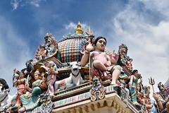 Hindu Temple, Singapore. (Manoo Mistry) Tags: singapore temple hindutemple hindu hinduism malaysia nikon nikond5500 tamron tamron18270mmzoomlens
