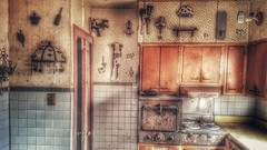 soulless... (BillsExplorations) Tags: abandonedhouse abandoned forgotten kitchen memories oncewashome soulless decor abandonedillinois abandonedfarmhouse house