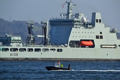(Zak355) Tags: rothesay isleofbute bute scotland scottish naval royalnavy rfatideforce rfatiderace a139 a137 riverclyde shipping ship boat vessel fueltanker