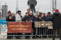 Excel Demo (thulobaba) Tags: demo activist campaign arms industry newham excel london brass band