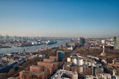 Hamburger Hafen (Markus Daams) Tags: hamburgerhafen panorama hamburg elbe