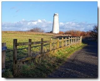 Lighthouse at Leasowe..........