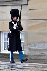 Guard of Honor - Copenhagen (FaceMePLS) Tags: kopenhagen copenhagen denemarken denmark scandinavië facemepls nikond5500 straatfotografie streetphotography militair soldaat soldier kolbak bajonet sabel manatwork