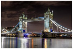 Tower Bridge, London (chrishill30) Tags: scenicbritain longexposures benrotripod benroletsgo nightphotography towerbridge london canon80d