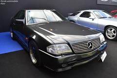 Mercedes 500 SL AMG 6,0 1991 (Monde-Auto Passion Photos) Tags: voiture vehicule auto automobile mercedes 500sl sl amg coupé noir black sportive rare rareté vente enchère sothebys france paris vauban