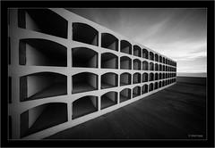 graveyards, La Palma, Canary Islands (Dierk Topp) Tags: a7r bw ilce7r ir laowa1018mmf4556fezoom sonya7rir architecture canaryislands graveyards infrared islascanarias lapalma monochrom sw sony