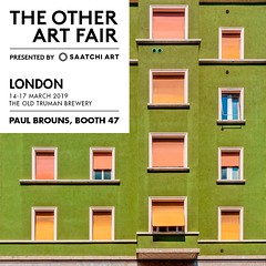 Invitation - Complimentary tickets available (Paul Brouns) Tags: art fair the other london saatchi saatchiart gallery artist artists uk great brittain show exhibition photographic paulbrouns paulbrounscom paul brouns brick lane old truman brewery milan facade facades urban tapestry tapestries limited edition prints