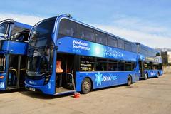 1641 HF66CFM (PD3.) Tags: 1641 hf66cfm hf66 cfm adl enviro 400 mmc go ahead goahead group gsc south coast eastleigh hampshire england uk bus buses psv pcv barton park hants dorset bluestar