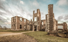 Topless photo (grbush) Tags: ruins abandoned derelict decay building architecture landscape clouds brick englishheritage england sonyilce7 tokinaatx116prodxaf1116mmf28 bedfordshire houghtonhouse
