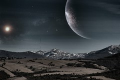 The Disappearance (yusuf_alioglu) Tags: thedisappearance space outerspace uzay spacetravel spacetraveler uzayseyahati uzayyolculuğu universe cosmos evren stars planet planets astronomy astronomi astrophotography mountain mountains landscape sky dream mydream dreamfactory photo photography photographer photoseries photoart photomanipulation fotoğrafmanipülasyonu tokat yusufalioglu yusufalioğlu yusufaliogluphotography snapseed canon canoneoskissx7i picasa flickr colors spacephoto spacedreams sun