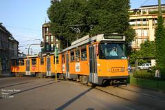 Milano 4939 (pretsend (jpretel)) Tags: milano atm tranvia articulado fiat 4900