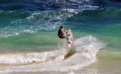 Kite Surfing Leighton (brett.m.johnson) Tags: water twotwilight three sunset sun late horizon two twilight guys man guy westernaustralia sand men coast beach windsurfing wind western waves wave surfing surfboard surf strong sport sky sea sailing sail perth people parachute ocean kitesurfing kiteboarding kite indian grey flying fly evening cloudy clouds cloud boarding board australia