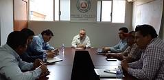 Trabaja nuestro coordinador con el Presidente municipal de San Marcial Ozolotepec, Ramiro López Hernández y el Diputado Federal, Daniel Gutiérrez Gutiérrez para generar mayor capacitación en materia de ProtecciónCivil en l