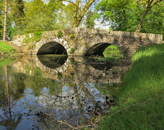 Stone Bridge (canong2fan) Tags: 78120 canong1x france iledefrance rambouillet arch arches bridge reflections stone terees water shade shadows shady dappled light