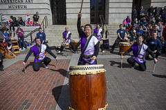 2019 Smithsonian American Art Museum Cherry Blossom Celebration  (19) Nen Daiko