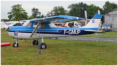 CESSNA 150 J    F.GMUP (Aerofossile2012) Tags: cessna fgmup avion aircraft aviation meeting airshow laferté 2017