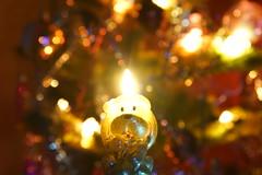 Свеча / Candle (Владимир-61) Tags: праздник украшения свеча собака новыйгод newyear holiday decoration candle dog sony ilca68 minolta28135