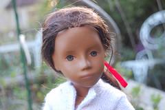 Sylvie at Sunset (Emily1957) Tags: sylvie sashadolls sashamorgenthaler germandoll gotz earlygotzdoll light nikond40 nikon naturallight kitlens vinyl dolls doll toys toy