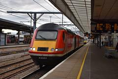 43251 + 43319 - Cambridge - 13/01/19. (TRphotography04) Tags: london northeastern railways lner hst 43251 43319 pass through cambridge topntailing 1s16 1046 kings cross inverness