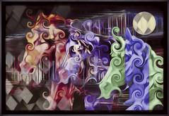 Horses (Daniel Arrhakis) Tags: odivelas creativedigitalart abstract abstractsurrealism creativeartphotography
