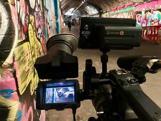 Graffiti Central, Leake Street London, SE11