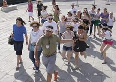 Critical Run @ Venice Biennale  / art format  Run and Debate about EMERGENCIES (Thierry Geoffroy / Colonel) Tags: biennale criticalrunvenicebiennalebiennalist2011venicebiennale2011 goodvenicebiennale maia venice