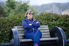 Chilling out in Lyttelton (Kiwi Jono) Tags: lyttelton port harbour train wheel seat bokeh outdoor smcpfa77f18 pentax