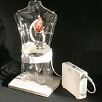 左心室植込み型補助人工心臓の写真