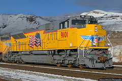 Out of the Box (jamesbelmont) Tags: unionpacific emd sd70ah saltlakecity utah znpoa railroad railway train locomotive