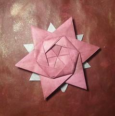 12 Pointed Star - Peter Keller (UnicornChik) Tags: origami star origamistar hexagon