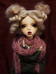 Freya {DollChateau Isabel} (mintmintmoomoo) Tags: doll chateau isabel kid bjd abjd msd 14 resin legit hybrid leaves body pout ball jointed