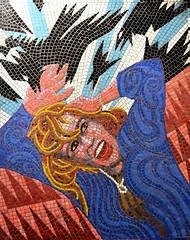 The Birds (R~P~M) Tags: alfredhitchcock movie film cinema thebirds mosaic mural train railway station leytonstone londonunderground centralline london england uk unitedkingdom greatbritain