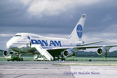 BOEING 747SP-21 N533PA PAN AM (shanairpic) Tags: jetairliner passengerjet b747 boeing747sp boeing747 shannon n533pa panam