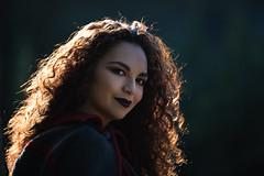 Cat - Villa Ada-2333 (Dreidor) Tags: portrait curly girlportrait beautiful girl woman italiangirl asian smile golden goldenhair sun beautifulportrait beauty